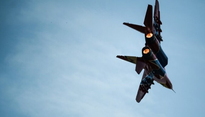 Азербайджанский самолет упал в Каспийское море
