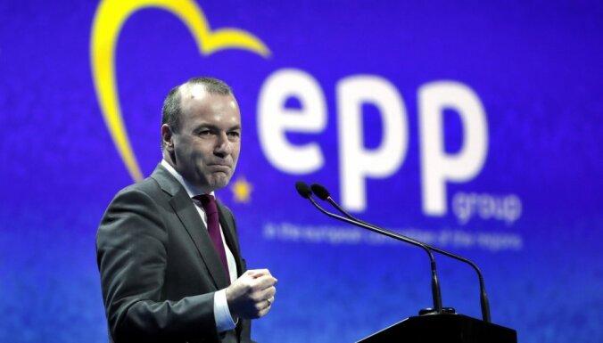 Vēbers atbalsta ES līdzekļu ierobežošanu dalībvalstīm, kas nenodrošina likuma varu