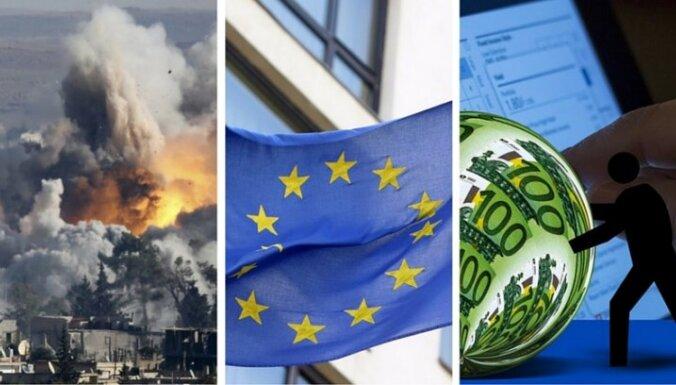 1 октября. Военная операция в Сирии, переворот в социальной политике ЕС, необоснованно собранный ПНН
