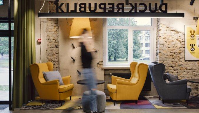 """ФОТО. На """"старой Маскачке"""" открылся студенческий отель: самое дешевое кроватное место — 169 евро"""