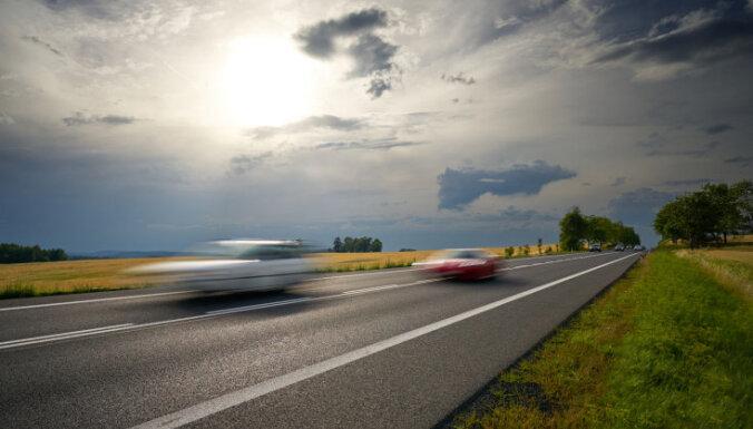 Еще в одном месте Латвии планируется установить измеряющий среднюю скорость фоторадар