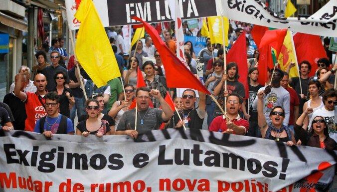 В Португалии объявлена всеобщая забастовка