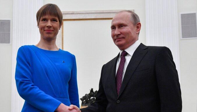 Министр культуры Эстонии посоветовал Кальюлайд отозвать приглашение Путину в Тарту