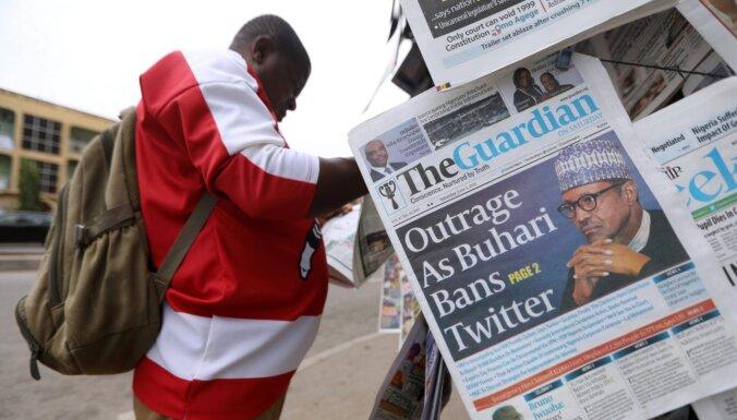 Nigērijā aizliedz 'Twitter'; draud vērsties arī pret lietotājiem