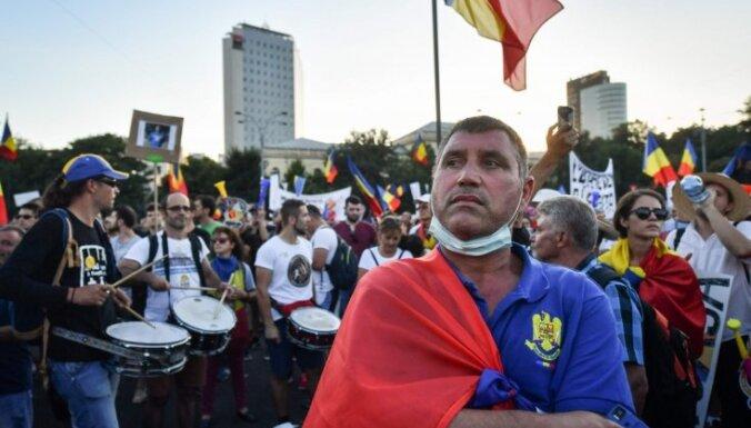 Масштабные протесты в Румынии: счет пострадавших идет на сотни