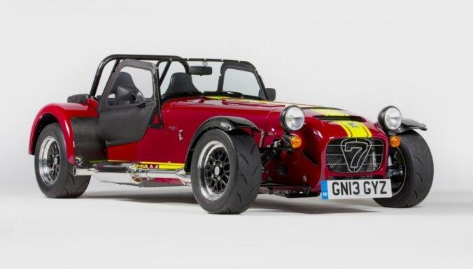 'Caterham' izstrādājis visjaudīgāko auto savā vēsturē