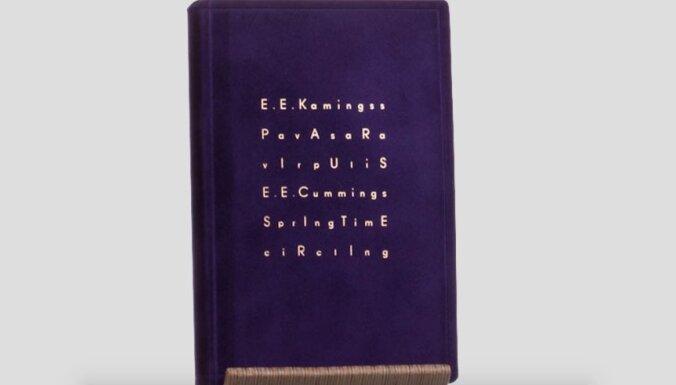 Izdota E. E. Kamingsa bilingvālā dzejas izlase 'Pavasara virpulis'
