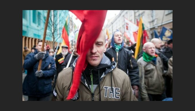 """ФОТО: в Вильнюсе состоялось шествие под лозунгом """"Литва— для литовцев"""""""