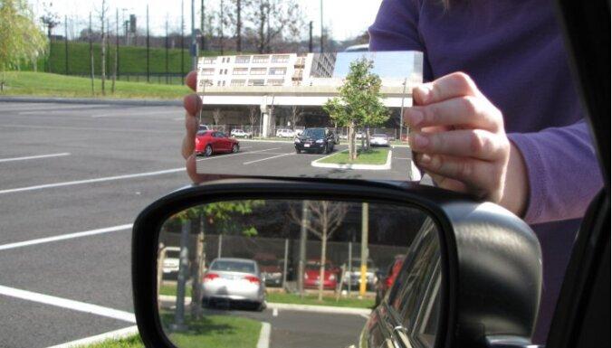 Rīgā aiztur auto spoguļu zagli