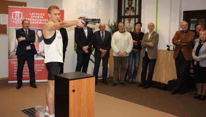 Foto: LSPA darbu sāk moderna sporta pētniecības laboratorija