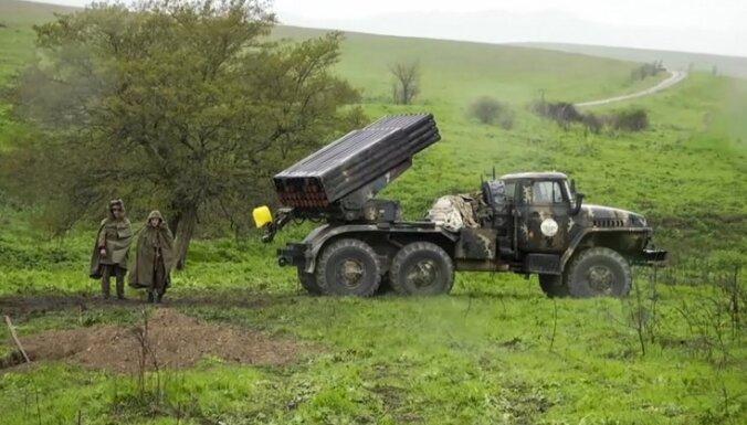 Азербайджан начал масштабное наступление в зоне карабахского конфликта
