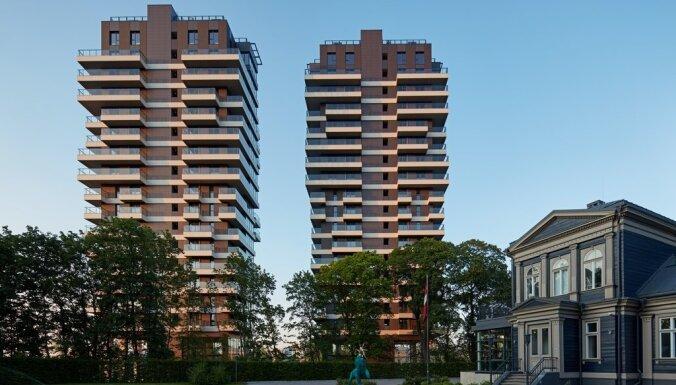 Foto: Pabeigta Filozofu rezidences būvniecība, kurā investīcijas sasniegušas 20 miljonus eiro