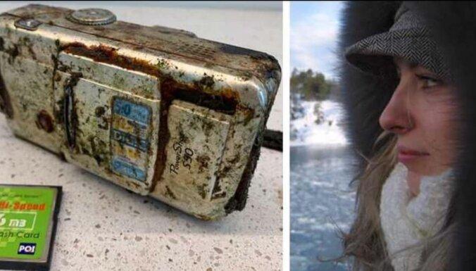 Шведский ныряльщик нашел камеру с фото 2010 года из Риги и ищет девушку с фотографий