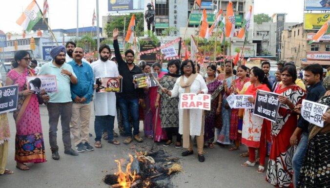 В Индии изнасиловали участниц акции против торговли людьми