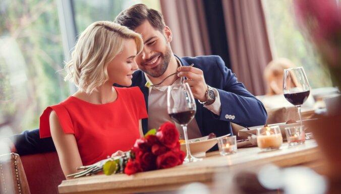 Ar mīļoto uz randiņu un romantisku maltīti – septiņas neaizmirstamas vietas