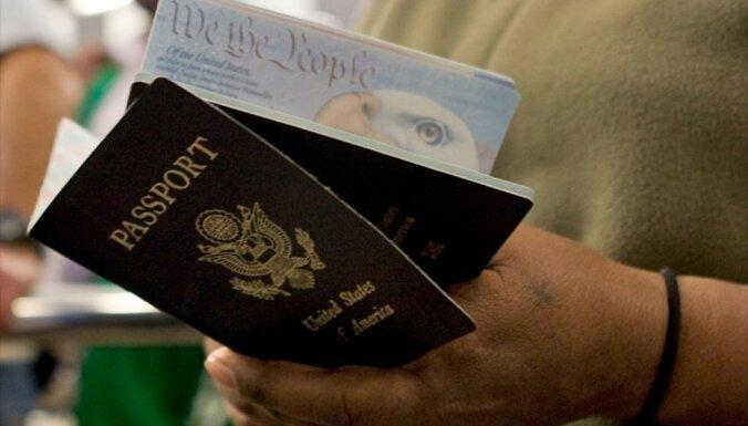 Latvija iestājas par bezvīzu režīma ar ASV saglabāšanu