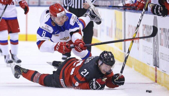 ВИДЕО: Сборная России победила датчан в первом матче на чемпионате мира по хоккею
