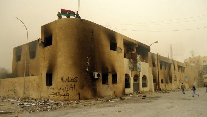 Lībijā nemieros gājuši bojā vairāk nekā 600 cilvēki