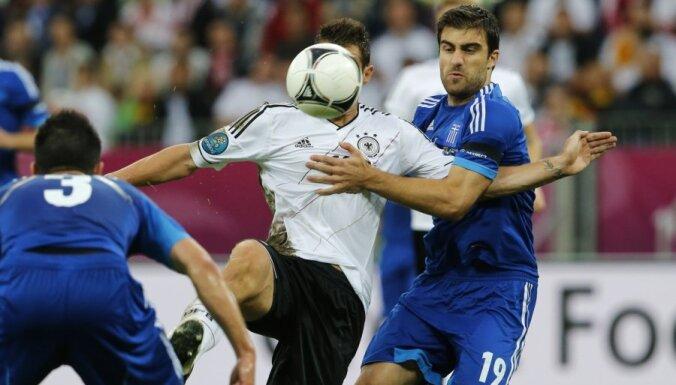Германия оборвала греческую сказку в четвертьфинале ЕВРО
