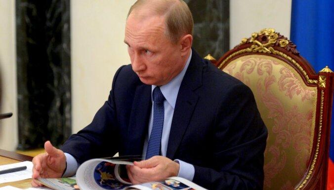 Putins dod rīkojumu apturēt lidojumus uz Ēģipti