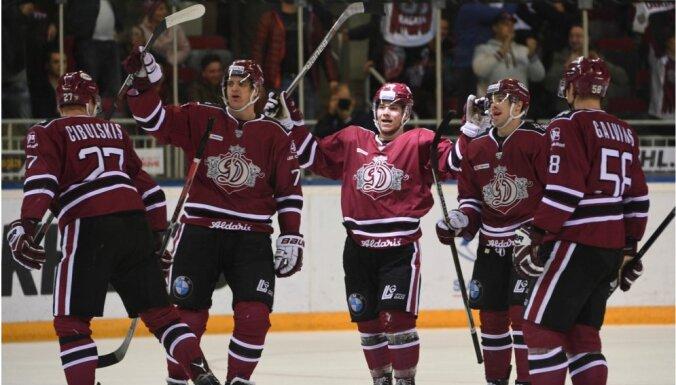 Rīgas 'Dinamo' otrajā mačā Tallinā tiekas ar Čeļabinskas 'Traktor' hokejistiem