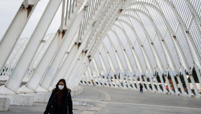 Grieķija stingro karantīnas režīmu pagarina līdz 7. janvārim