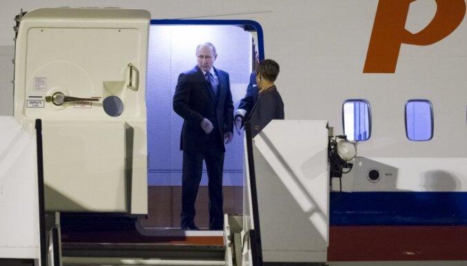 "Reuters: самолет Путина по пути на G20 совершил ""крюк в 500 км"""