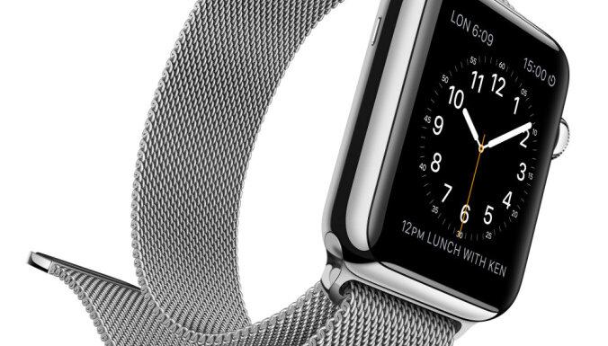 """Продажи """"умных"""" часов от Apple рухнули на 55%"""