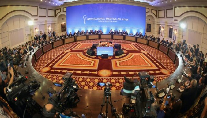 В Астане не удалось договориться по зонам деэскалации в Сирии