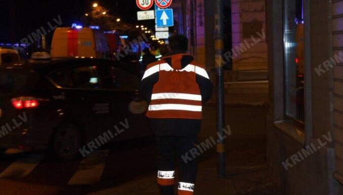 ФОТО, ВИДЕО: Установлена возможная причина утечки газа; движение транспорта и пешеходов восстановлено