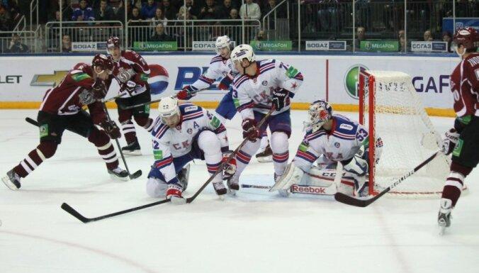 Dinamo Riga - SKA Sankt-Peterburga 6:4, KHL