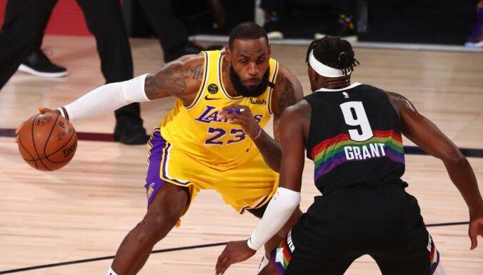 'Lakers' sper soli pretī NBA finālam