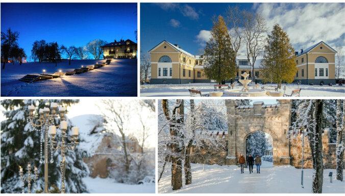 Аристократическая зимняя сказка в Латвии: дворцы и замки в праздничном убранстве (ФОТО)