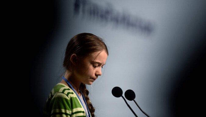Grēta Tūnberga kļūst par 'Time' gada cilvēku