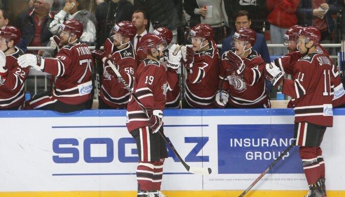 Rīgas 'Dinamo' spēlē pret SKA centīsies pārtraukt neveiksmju sēriju
