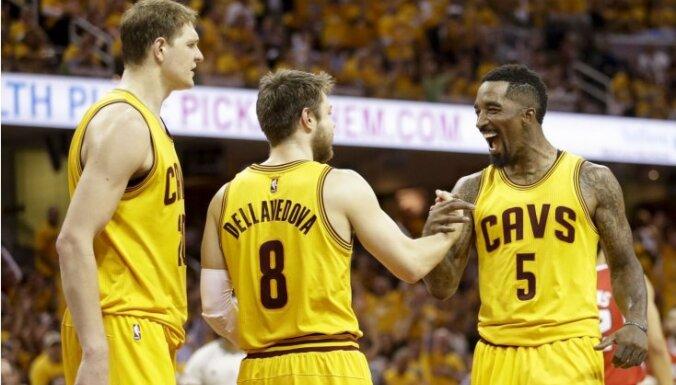 Klīvlendas 'Cavaliers' sasniedz NBA finālu