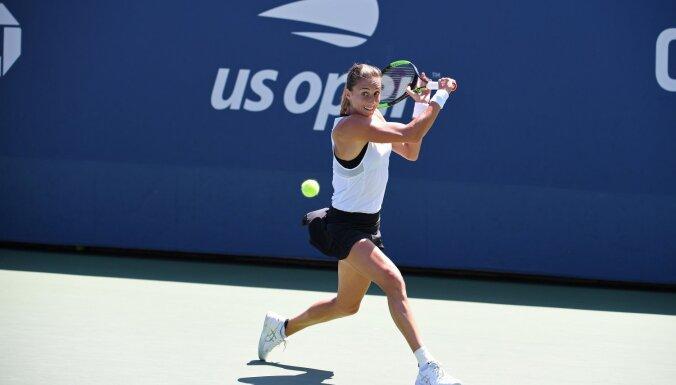 Sevastova un Ostapenko uzzina pretinieces 'US Open' trešajā kārtā