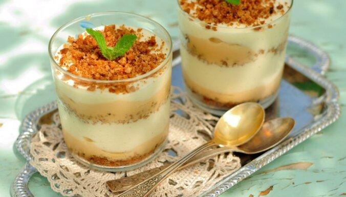Čiks un gatavs! 10 zibenīgi pagatavojamu desertu receptes