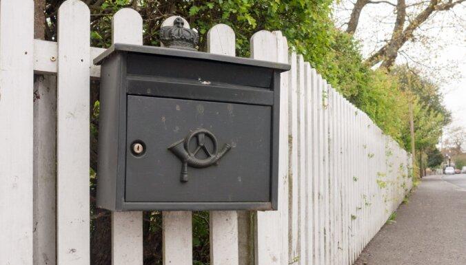 Latvijas Pasts: pastkastītēm ir jābūt noformētām atbilstoši visām prasībām