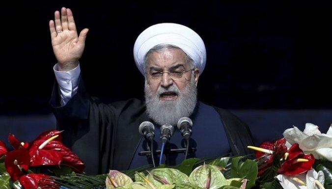 """Иранский лидер призвал нацию сплотиться и """"поставить Америку на колени"""""""