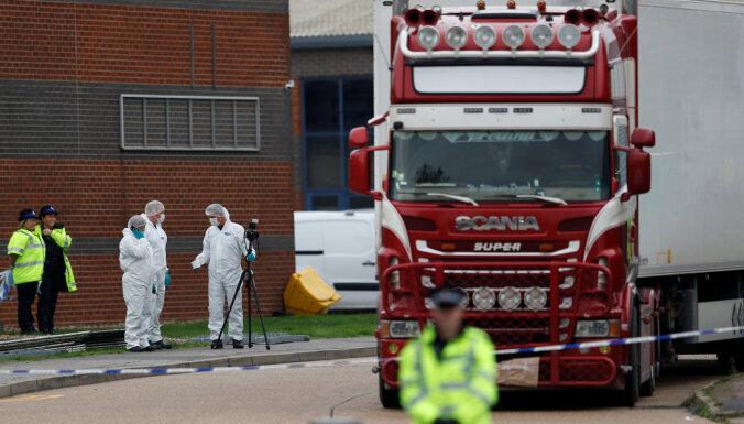 В Британии по делу о гибели 39 китайцев арестованы два человека