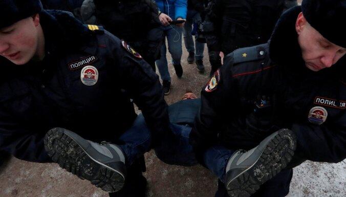 В Петербурге на митинг из-за обрушившегося СКК вышли 600 человек