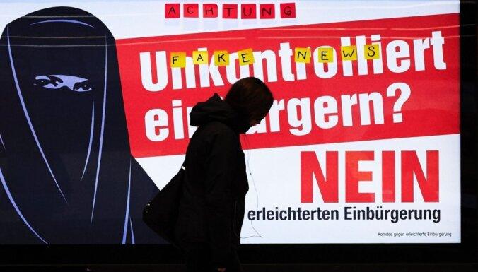 Šveicē notiek referendums par pilsonību, nodokļu izmaiņām un olimpiskajām spēlēm