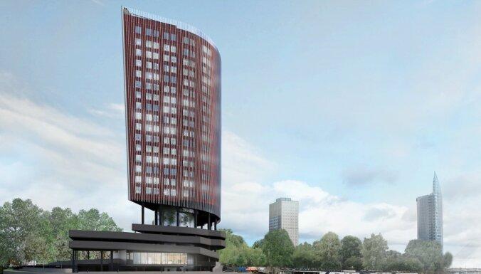 Blakus 'Swedbank' būvēs jaunu biroju centru, investējot 30 miljonus eiro