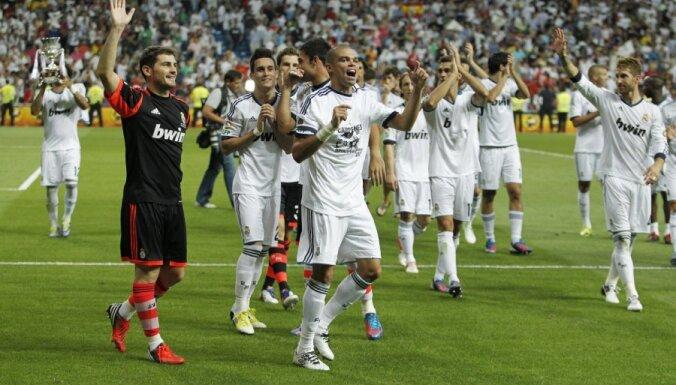 Madrides 'Real' uzvar Spānijas Superkausā