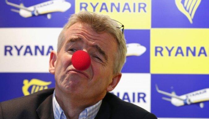 'Ryanair' varētu pamest Rīgu; 'Wizz Air' gatavs stāties vietā