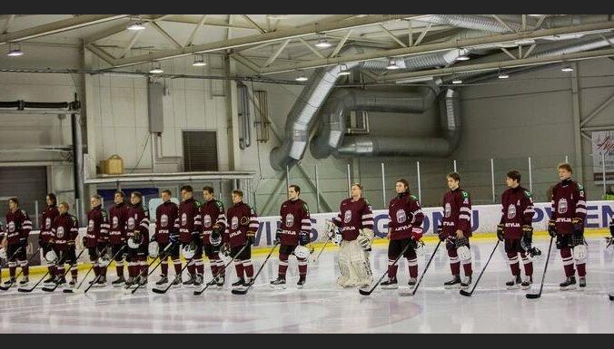 Nosaukts Latvijas U-18 hokeja izlases sastāvs turnīram Jelgavā