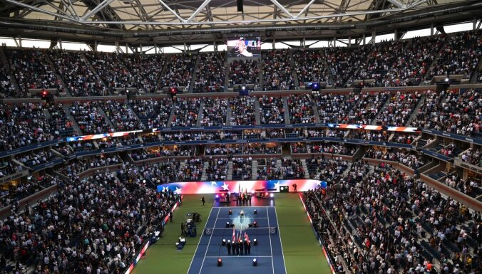 'US Open' sasniedzis atklāšanas dienas apmeklētības rekordu