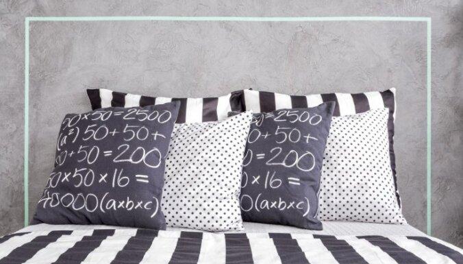 Kā pareizi mazgāt apdrukātu un apgleznotu gultas veļu