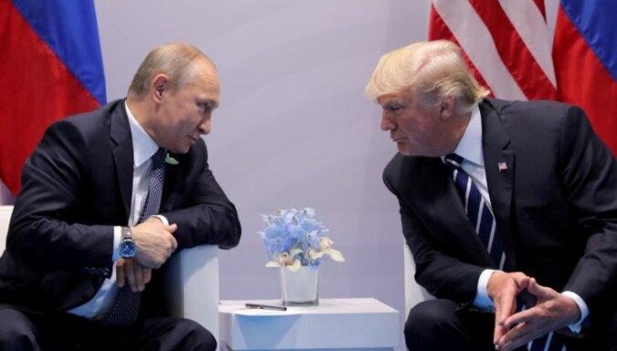 "Трамп назвал Путина ""шахматистом мирового класса"""